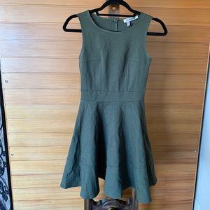 ModCloth army green skater dress